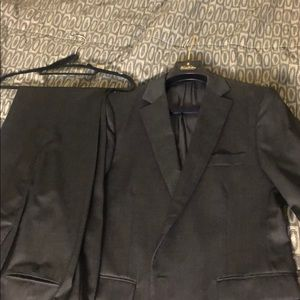Brooks Brothers 42R Fitzgerald Charcoal Suit